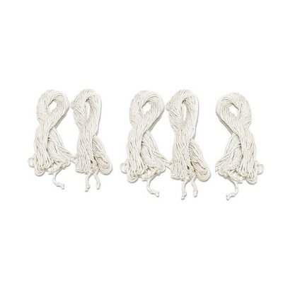 5 Pieces Cotton Hand Made Long Thick Sacred White Thread Pooja Janeu