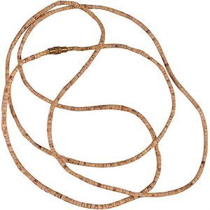 Tulsi Beads Mala Tulsi Kanthi Necklace for Meditation Prayer Tulsi Japa Mala