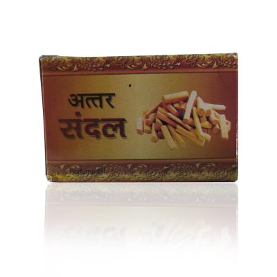 100% Genuine Sandal Flowers Attar For Pooja 2 ml (Pack of 2)