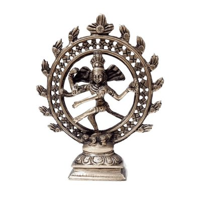 Dancing God Shiva Natraj Style 6 Inch Idol for Home Decor and Gift