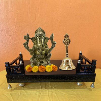 Handmade Solid Brass Bell for Pooja / Pooja Ghanti