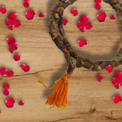 Hand Crafted Genuine 108 Beads Tulsi Japa Mala Healing Prayer mala, Chanting Mala, Meditation