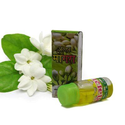 100% Genuine Mogra Flowers Attar For Pooja 2 ml (Pack of 2)