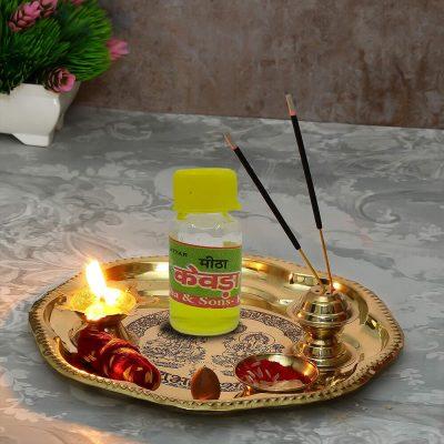 100% Genuine Kewda Flowers Attar For Pooja 2 ml (Pack of 2)