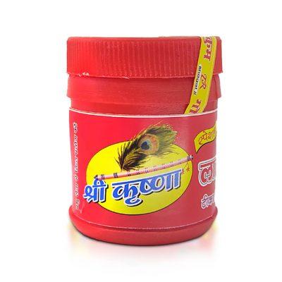 Special Brij Lal Chandan for pooja tilak (Pack of 2)