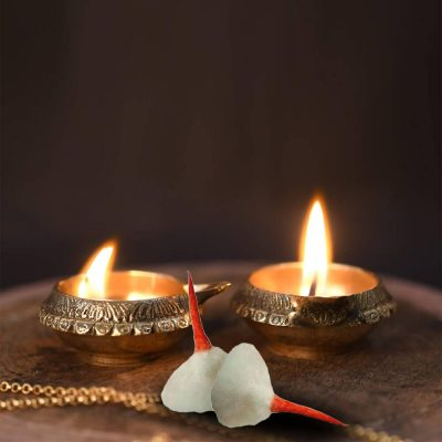 Cotton Wicks Diya Batti Cotton Wicks Round Lighting Pooja Wicks for Jyoti and Aarti cotton Wicks