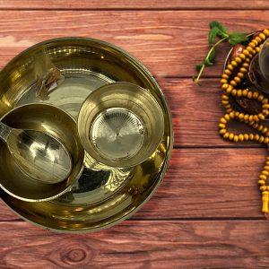 Pooja Thali Set for Home Temple, Festival