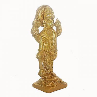 God Vishnu Brass Statue