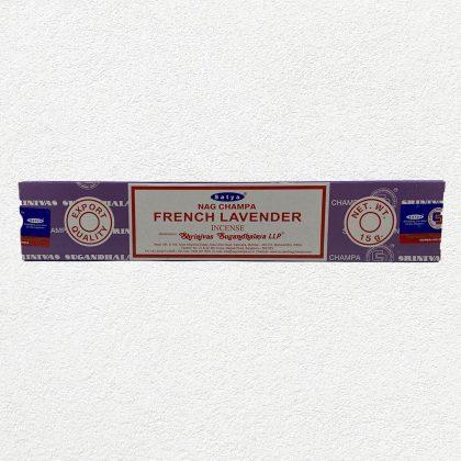 Satya Nag Champa French Lavender Incense Sticks for Prayer, Meditation, Relexing, Stress Relief