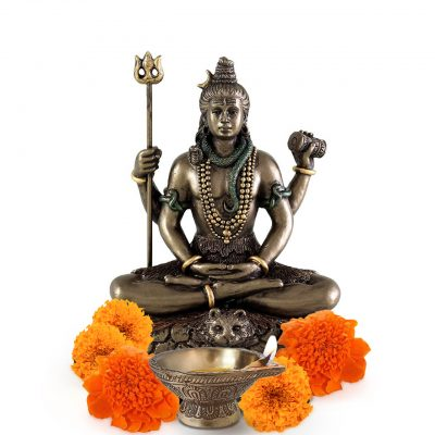 Hindu God Lord Shiva in Meditation