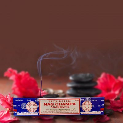 Satya Sai Baba Nag Champa Incense Sticks for Prayer, Meditation, Pooja, Worship, Relexing, Stress Relief