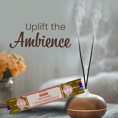 Satya Oodh Incense Sticks for Prayer, Meditation, Relexing, Stress Relief