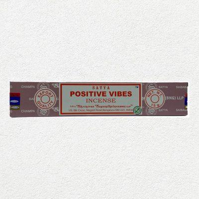 Satya Positive Vibes Incense Sticks for Prayer, Meditation, Relexing, Stress Relief, Pooja, Worship,