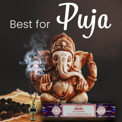 Satya Reiki Incense Sticks for Prayer, Meditation, Relexing, Stress Relief, Pooja, Worship,