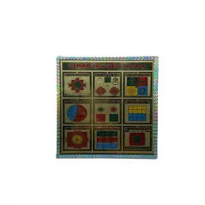 Sampurna Dhan Vridhi Yantram 6 X 6 Inches