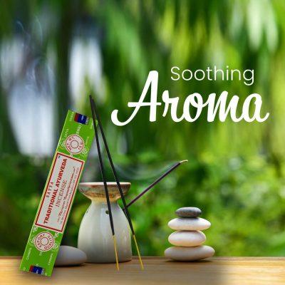 atya Traditional Ayurveda Incense Sticks for Prayer,Pooja, Worship, Meditation, Relexing, Stress Relief