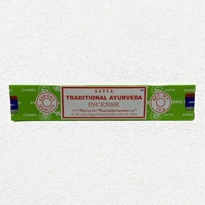 Satya Traditional Ayurveda Incense Sticks for Prayer,Pooja, Worship, Meditation, Relexing, Stress Relief